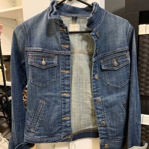 J Crew Dark Denim Jean Jacket